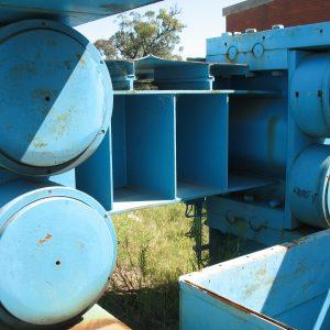 Item 13 Humboldt Wedag RPV 140-100 Main FrameFrame Floating Roller