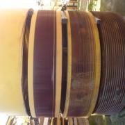 Item 133 Vickers 60 x 48 Pitman Flywheels ( Held At Kwinana ( Used )