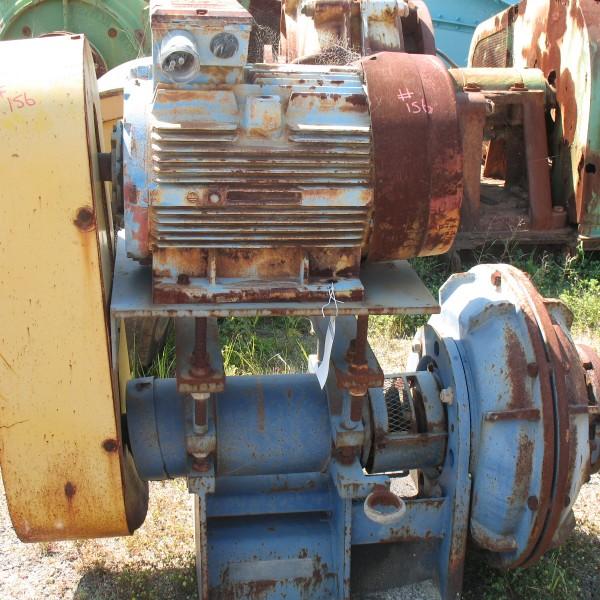 Item 156 Linatex Pump Assy Motor Frame size D 225, 45KW RPM 1760