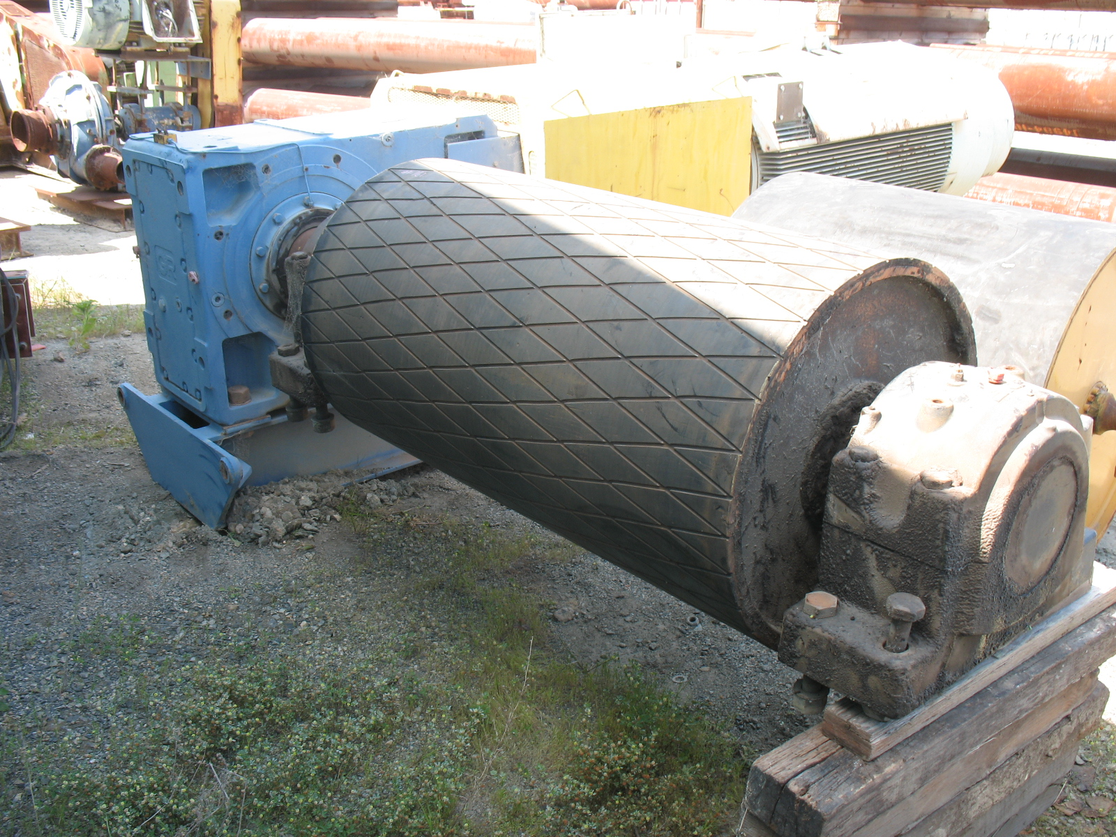 Rossi Motor Gear Box Assembly Crushing Services