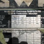 Item 168 ( B 11033 ) Hoist Nameplate