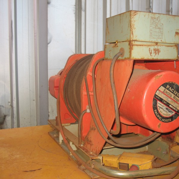 # K 104 Pacific Elect Winch rating 500Kg (3)