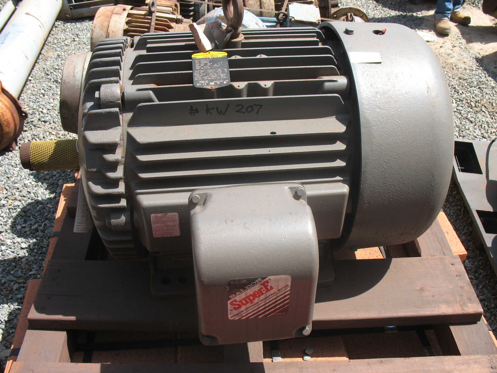 Baldor Reliance Electric Motor Crushing Services