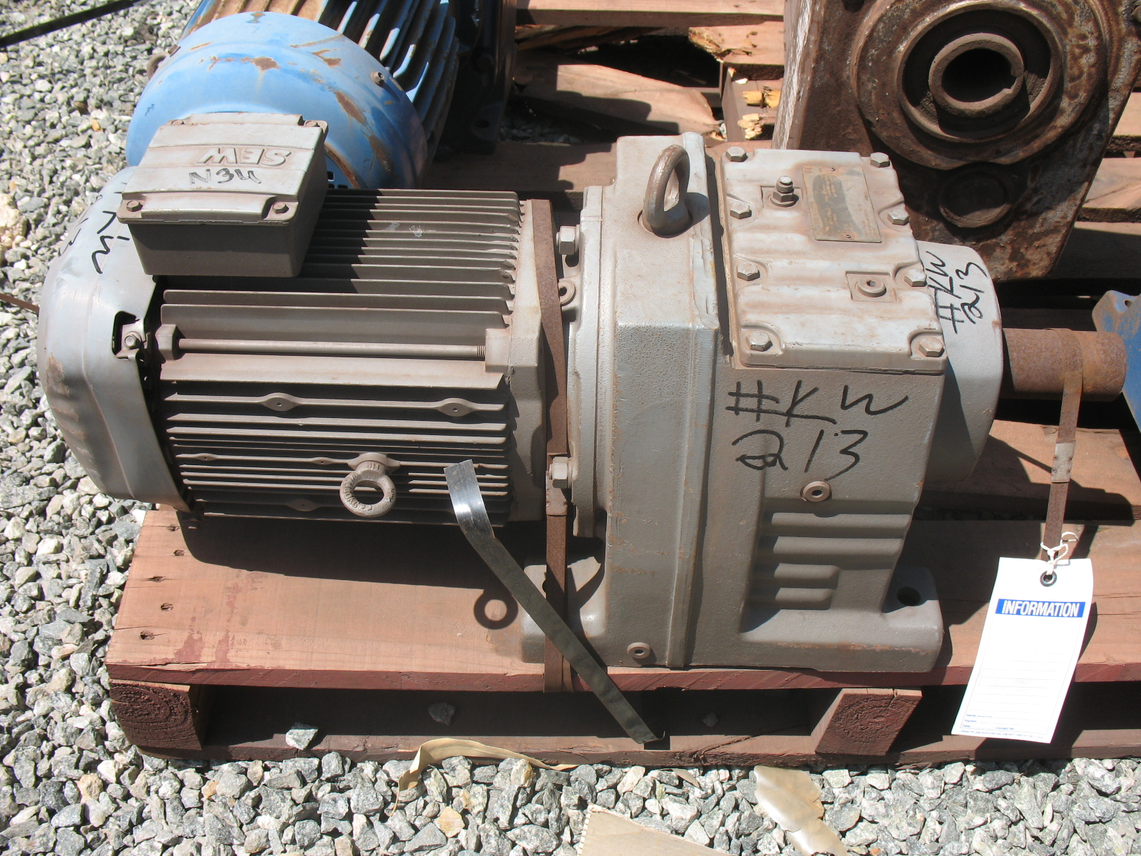 Sew euro drive motor gear box reducer crushing services for Sew motors and drives