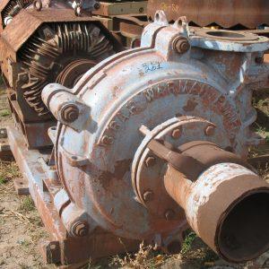 # K 261 8-6 Warman Pump On Base (1)