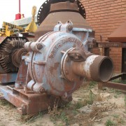 # K 261 8-6 Warman Pump On Base (2)
