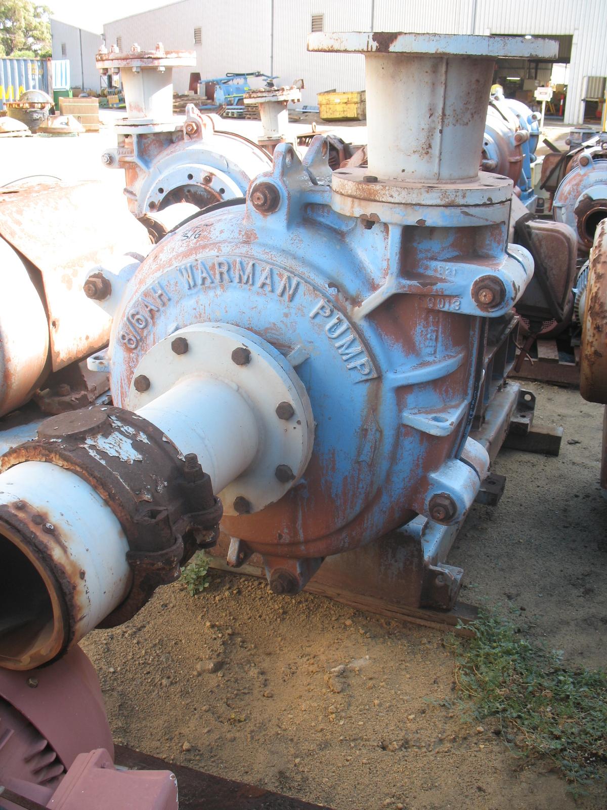 Warman Pump 8 6 Ah Crushing Services International