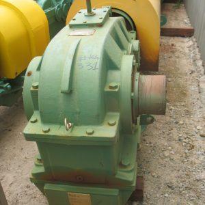 # K 331TCH 3-250-E,ratio 22.-1,55kw,415volt,1480rpm CMG motor (1)