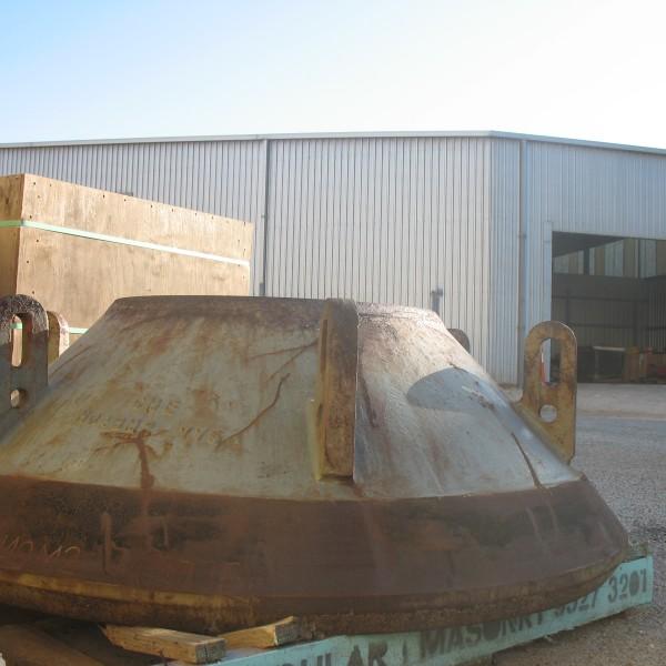 K 343 bowl liner to suit 54 Inch  El-jay roller cone (4)
