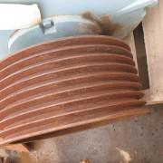 ABB Motor 132KW 4P CW SPB 8 G Pulley (2)