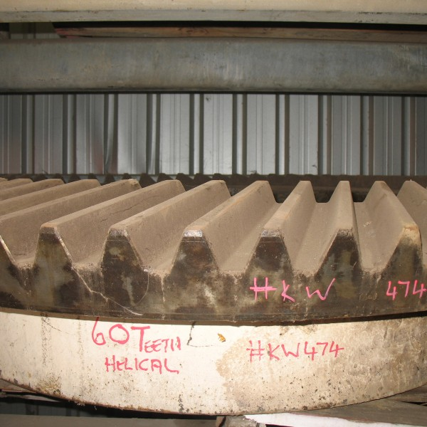 # K 474 54 x 74 Eccentric Gear ( 60 Teeth ) Helical (1)