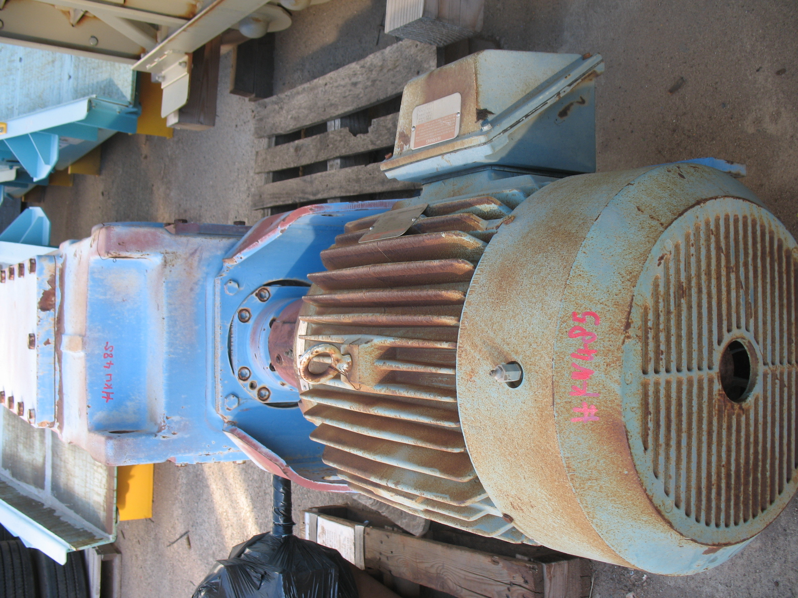 Flender Gear Reducer Drive Crushing Services International