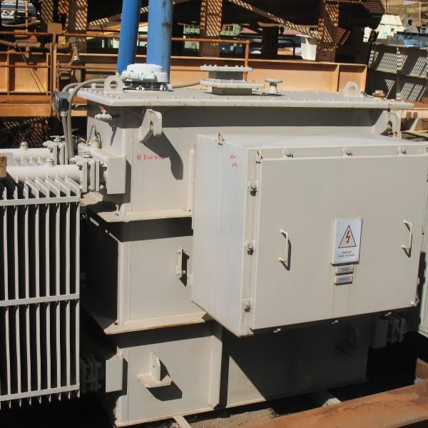 # K 496 Transformer 3000KVA  11KV- 433V-250V Vector DYn 11 Ser No 541309 (6)