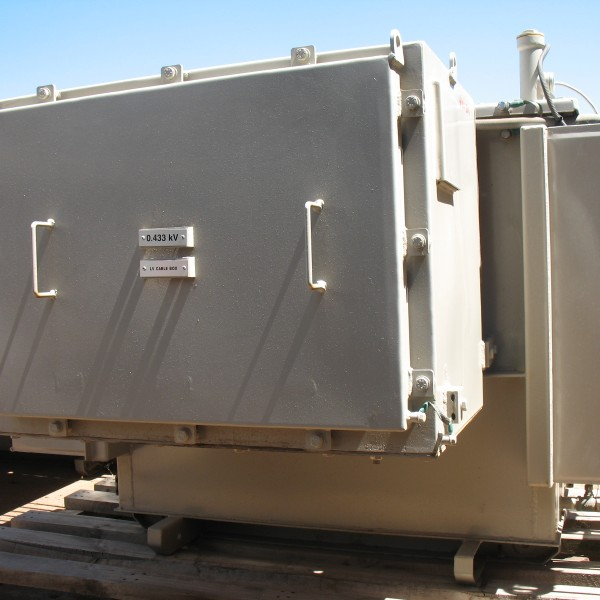 # K 501 XFr 300KVA PV 11KV  SecV 433-250 Vector DYn 11 50 Hz  Ser No 571174 Yr 2014 (2)