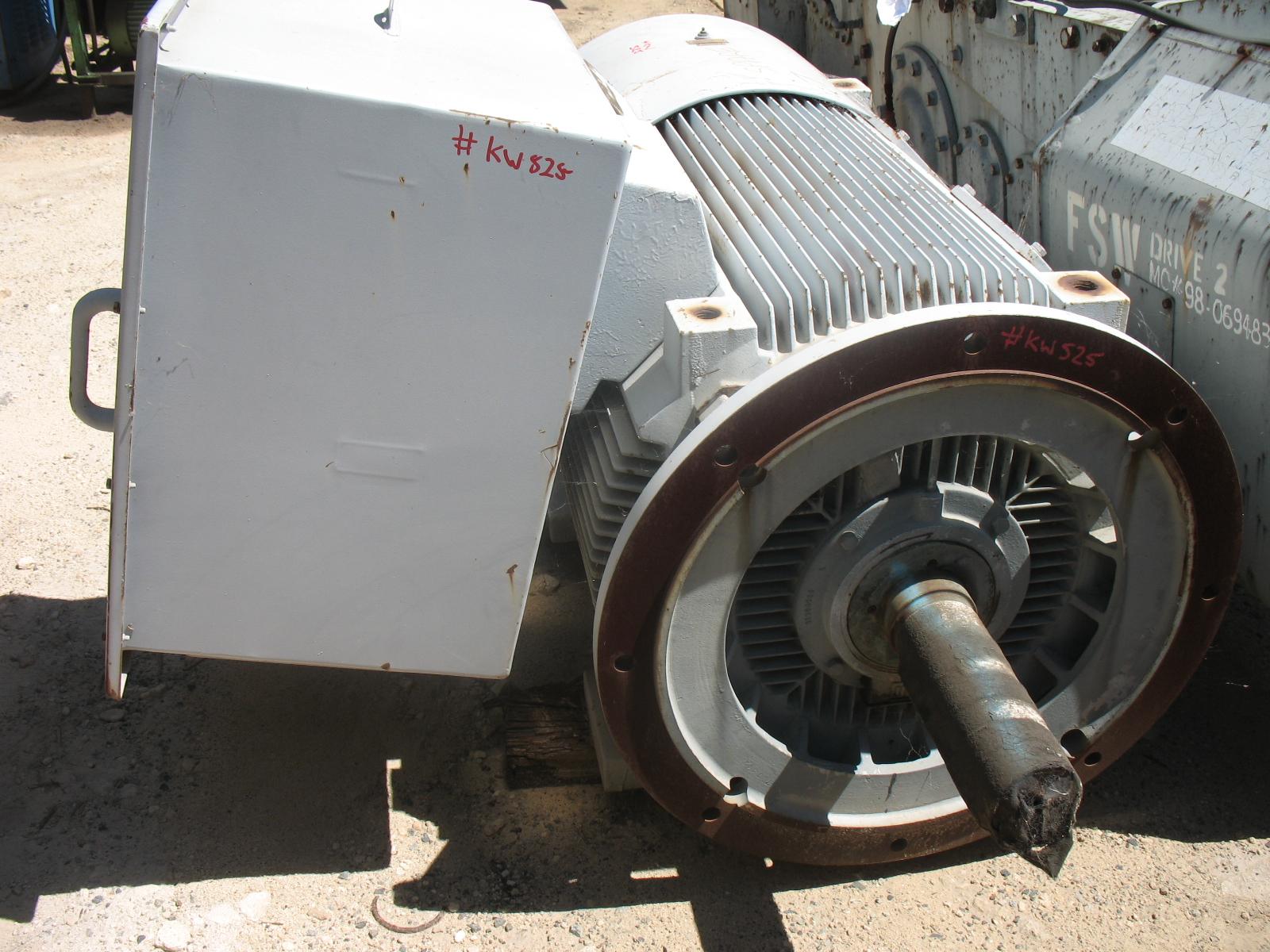 Weg Electric Motor Crushing Services International
