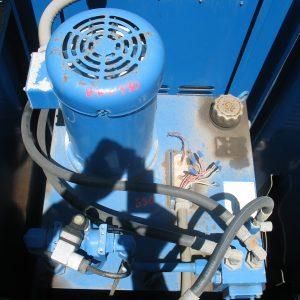 # K 530 Oil Trans Unit Model H38 1LOPKM-10 Ser No AO6Lo7 P Flow 8.8 GPM P 910 PSI Motor 5 HP 60 Hz 1725 RPM  (5)
