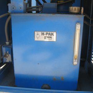 # K 531 Parker Hyd Pp Western Liquid Ser No J 5899B Flow 8GPM P 750PSI Motor Baldor 5HP 60 Hz 1758 RPM   (2)