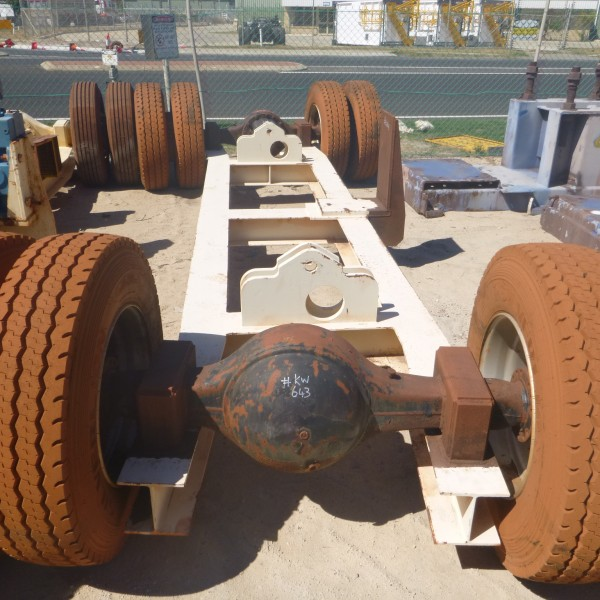900mm Cv Stacker Bogey No Drive No Carden Shafts  Diff Ratio 6.3-1 (4)