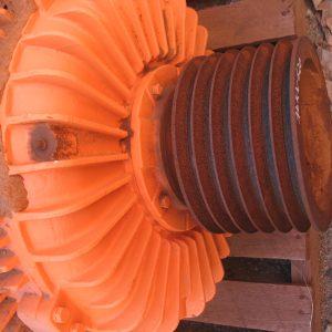 # K 620 CMG Motor PPA 315L 85-4 V 415-720 D V Pulley 270mm OD  6G SPC  (2)