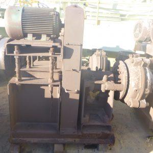 # K 637 Warman Pump Assy 6-4 AH Pump V Belt Drive & 22KW CMG 4P Motor (2)