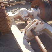 # K 647 CSI STK Bogey Motor 4KW 4P G Box Rossi MRC2I 160UO2A Ratio 154-1 C Sfts 1550 Series  (4)