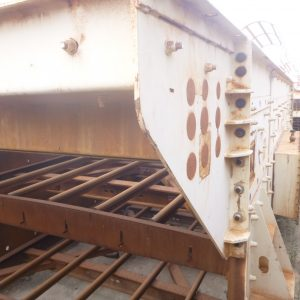 # K 669 Terex 20 x 6 TDHS Screen C W Top Deck Feed & Discharge Chute Ser No 055439 (3)