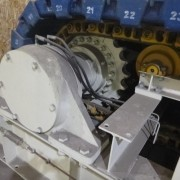 # K 677 Jaques Apron Feeder Size 1500W x 9024 L  Ser No 607895  Manaf Date Dec 2011 With 110KW Motor  T Ar