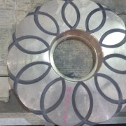 # K 725 42 x 65 Gyro Mainshaft Bronze Step Bearing Plate  (1)
