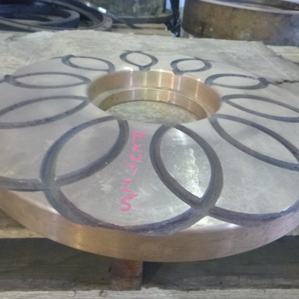 # K 725 42 x 65 Gyro Mainshaft Bronze Step Bearing Plate  (2)