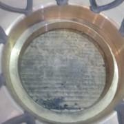 # K 725 42 x 65 Gyro Mainshaft Bronze Step Bearing Plate  (3)