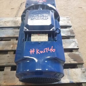 # K 746 Rossi G Reducer Drive 7.5KW 4P  MR2I 80UC2A Ratio 4.96-1 Shaft 42mm Ser No 3092185 (6)