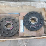# K 932 2 Off F 200 Half Couplings H Type C-W T Lock 4535  110mm   JPG (2)